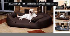 tierlando - Orthopädisches Hundebett SAMMY VISCO