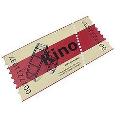 Kartondisplay Kinokarte 70 cm