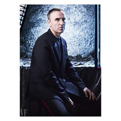 """""""I'm not romantic about the past. Once it's done it's done. I'm romantic about the future."""" Chief Creative Officer Raf Simons tells…"""