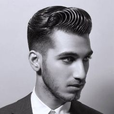Swoop Pompadour + Faded Sides