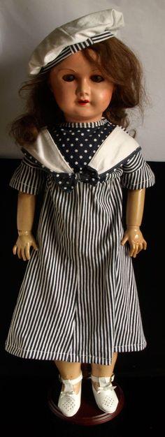 Francouzská kloubová panenka Paris 70 cm