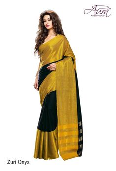 Shonaya Women's Black & Gold Woven Work Cotton Silk Saree with Unstitched Blouse Piece: The Designer Bollywood Saree from the house of Shonaya /bis designed as per the latest trends giving the best experience to the Indian Women. Silk Saree Kanchipuram, Best Online Fashion Stores, Art Silk Sarees, Bollywood Saree, Cotton Saree, Cotton Silk, Party Wear Sarees, Saree Wedding, Printed Cotton