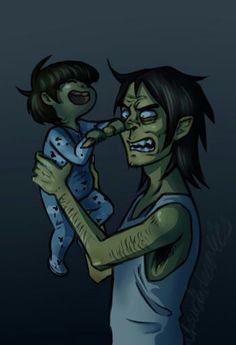 Resultado de imagen para Murdoc niño