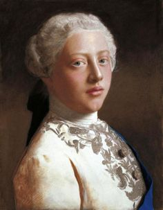 George, Prince of Wales (later George III) by Jean-Étienne Liotard - 1754