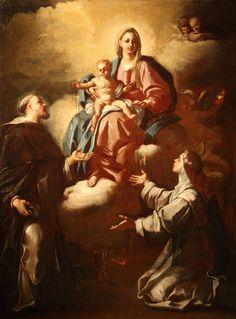 Michelangelo Sciler attivo a Napoli nel XVIII sec- Madonna con Bambino