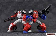 Make Toys - Manga Mech Series - Trash-Talk & Cogwheel - Set of 2 Figuresby Make Toys #transformer