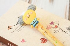 cute cartoon Koala Bear Hello Geeks pen Ver 02 by LemonCatShop, $2.50 USD