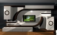 Best 40 modern TV wall units wooden tv cabinets designs for living room interior 2020 Front Wall Design, Tv Wall Design, Ceiling Design, Wall Unit Designs, Living Room Tv Unit Designs, Tv Unit Decor, Tv Wall Decor, Tv Unit Furniture Design, Tv Wall Cabinets