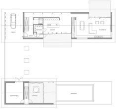 Ground Floor Plan, Modern Home in Oosterhout, The Netherlands