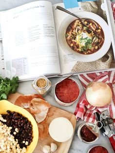 Crushing on Gina Homolka of Skinnytaste, Slow Cooker Chicken Enchilada Soup and a Cookbook Giveaway - foodiecrush