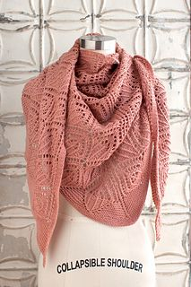 Balconet Shawl - free knitting pattern