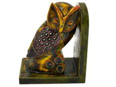 Wooden Hand Carved Embossed Owl Bookend - Yellow Color 7 Inches The Modish Store,http://www.amazon.com/dp/B00EJ2ZDGG/ref=cm_sw_r_pi_dp_RHbMsb0XYHAZVQWB