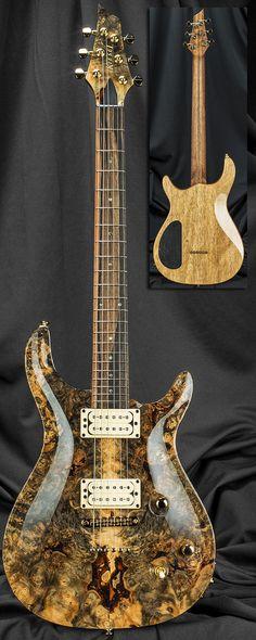 Kiesel Guitars CT6M California Carved Top Guitar Serial Number 131725