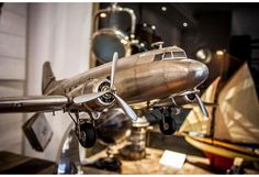 Legendary workhorse of the skies during the Douglas Dakota DC 3 Model Plane Aviation Decor, Model Airplanes, Track Lighting, Arts And Crafts, Ceiling Lights, Simple, Vintage, Home Decor, Baron