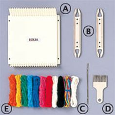 エオリア(絵織伊手織り機セット内容