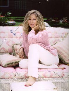 Barbra Streisand she looks so inviting and friendly