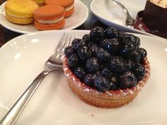 THEIRRY - blueberry tart 8/10 #food #dessert #fruit #vancouver #vancouvereats Vancouver, Fruit, Blackberry, Tart, Cheesecake, Desserts, Food, Cake, Meal