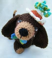 dachshund crochet pattern free - Google Search