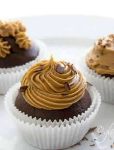 Gluten-Free Goddess Baking Tips + Substitutions. This woman is a genius. Everything you ever wanted to know about baking gluten free. Chocolate Coffee Cupcakes, Gluten Free Chocolate Cupcakes, Coffee Icing, Gluten Free Cupcakes, Gluten Free Treats, Gluten Free Desserts, Dairy Free Recipes, Chocolate Desserts, Dessert Recipes