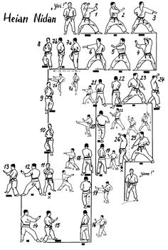 Heian Nidan Movements