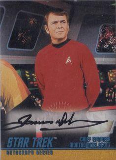 "James Doohan as Scotty on ""Star Trek""."