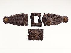 Three-piece belt set from Niederstotzingen, 6th-7th century