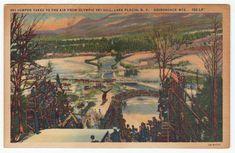 Postcards - United States # 70 - Lake Placid, New York