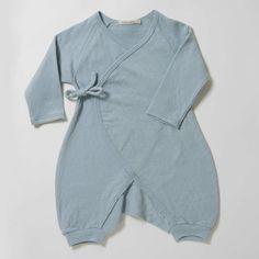 Luxurious Organic Infant and Baby Clothing: onesies : Pointelle Kimono Onesie w/ Leggings