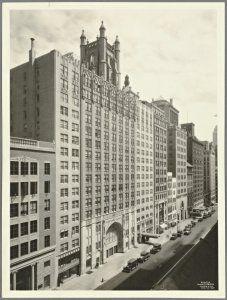 123-141 West 57th Street, Calvary Baptist Church, April 20, 1931. NYPL.