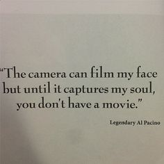 let it capture your soul....#acting