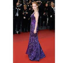 Cannes 2013: Jessica Chastain in Givenchy Haute Couture