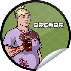 """Archer S4E7 -""""Live and Let Dine""""  02/28/13 #FX"""