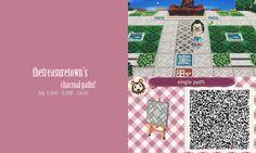 Animal Crossing QR Codes ❤ TreasureTown Path TILE#1