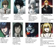 "Tag Yourself Meme Death Note---I'm ""how do you like them apples"""