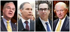 Trump's Crime Wave Cabinet Is Trying To Dodge Disclosing Conflicts Of Interest