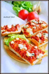Чиабатта (ciabatta) и пицца-хлеб или чиабатта-пицца.