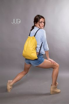 Mustard yellow leather backpack purse - multi leather bag SALE women leather bag- leather shoulder bag - woman bags - leather satchel by JUDtlv on Etsy https://www.etsy.com/listing/153922335/mustard-yellow-leather-backpack-purse
