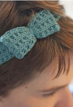 A Quartet of Headbands - Free Knitting Patterns by Allyson Dykhuizen