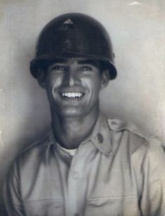 """""""Hot Grandpa"""" -- The Reddit post by Derek Schwenderman that received so many comments.  Korean War vet and OMG, what a smile!"""