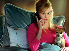 Elle Woods is a true model and handles challenges with class. I know, I know, she's a romantic comedy character, not Mother Theresa. But trust me, Elle's got it together.