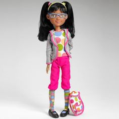 Little MissMatched Artsy Girl Doll @LittleMissMatched