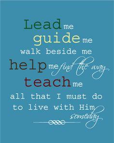 I am a child of God...