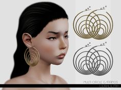 Leah Lillith's LeahLillith Multi Circle Earrings
