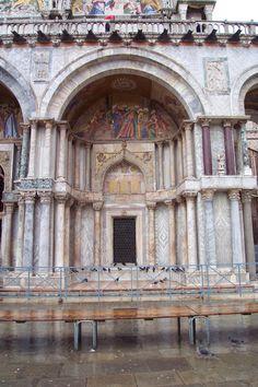 San Marco & Piazza - Venice, Italy Mosaics - 'Body of St Mark leaving Alexandria'