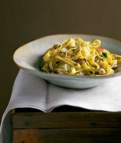 Fettuccine with Clam Sauce and Potatoes recipe