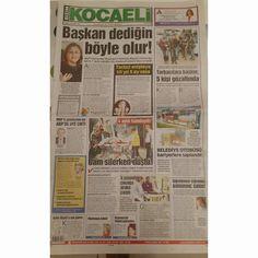 Bizim Kocaeli Gazetesi'nde bugün... (07.11.14) #bizimkocaeli #gazete #manşet #bugün #izmit #kocaeli