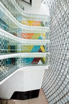 South Australian Health & Medical Research Institute. Firm: Woods Bagot. Location: Adelaide, Australia.