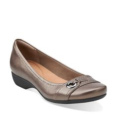 Propose Spire in Pewter Leather - Womens Shoes from Clarks