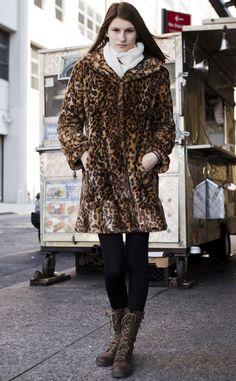 Moda en la calle en Nueva York: Tommy Hilfiger