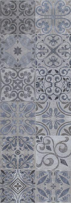 Porcelanosa Antique_Blue_31,6x90